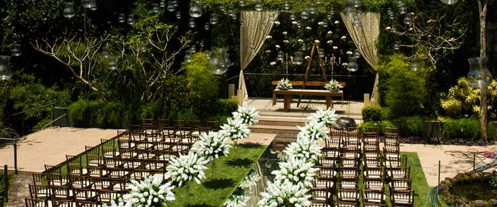 Dicas para um casamento perfeito ao ar livre