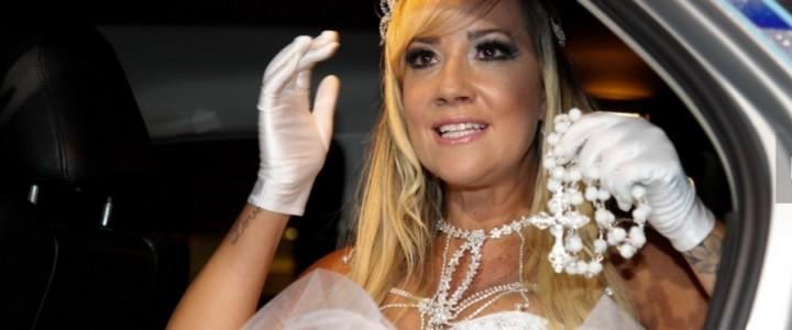 Juarez Fernandes assina vestido de noiva de Vivi Fernandez